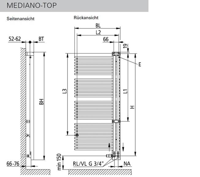 mediano top kermi badheizkoerper badheizk rper. Black Bedroom Furniture Sets. Home Design Ideas
