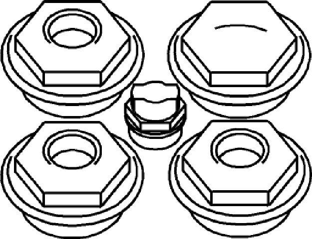bemm stopfenset 5 4 x 3 8 radiatorstopfen stopfen zubeh r ersatzteile heizung bad. Black Bedroom Furniture Sets. Home Design Ideas