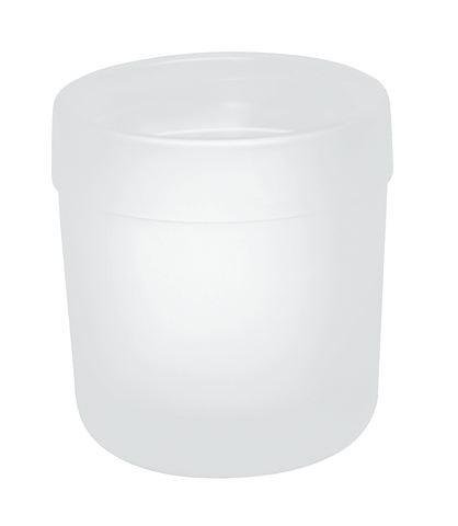 Glasbecher Serie 477 matt weiß