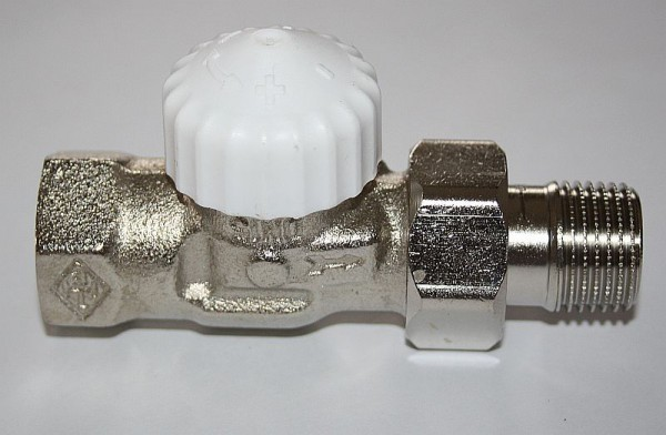 "Thermostatventil 3/4"" Durchgangsform"