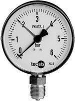 "Manometer 1/2"" 0-6 bar Edelstahl"