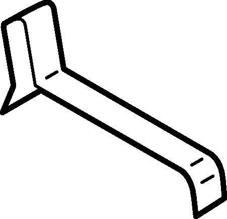 Klammer zu Spülkastendeckel