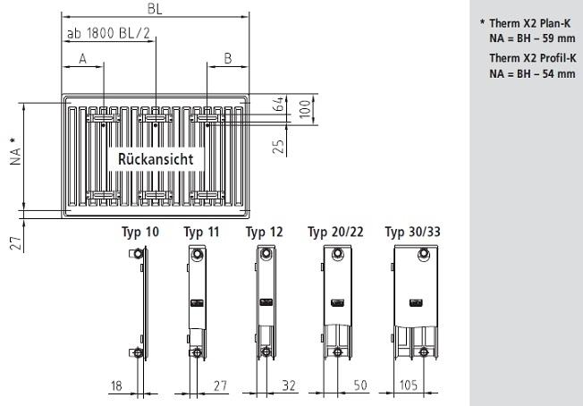 kermi heizk rper x2 kompakt heizk rper bad pirat. Black Bedroom Furniture Sets. Home Design Ideas
