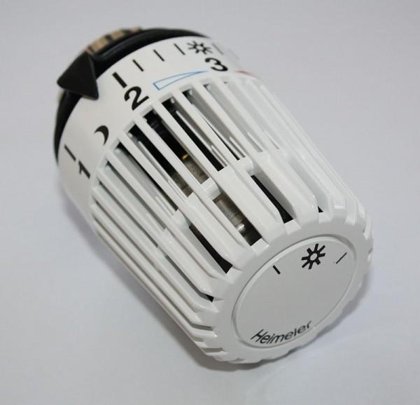 Thermostatkopf mit Nullabsperrung